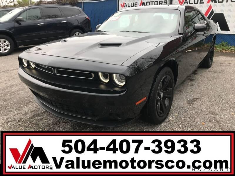 2018 Dodge Challenger for sale at Value Motors Company in Marrero LA