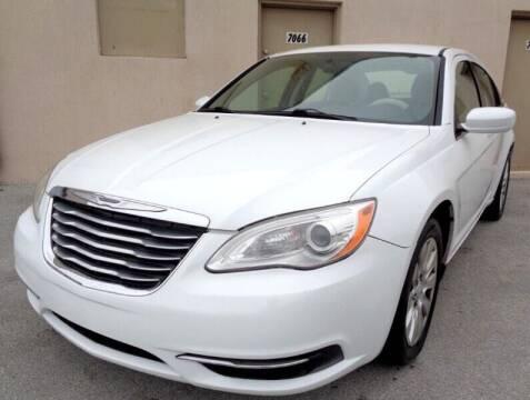 2014 Chrysler 200 for sale at Selective Motor Cars in Miami FL