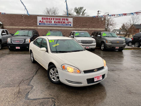 2008 Chevrolet Impala for sale at Brothers Auto Group in Youngstown OH