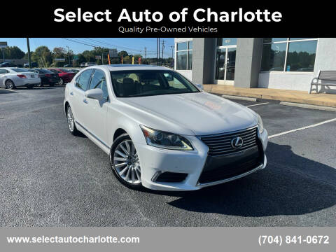 2013 Lexus LS 460 for sale at Select Auto of Charlotte in Matthews NC