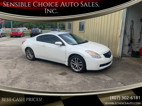 2009 Nissan Altima for sale at Sensible Choice Auto Sales, Inc. in Longwood FL