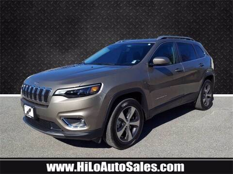 2019 Jeep Cherokee for sale at Hi-Lo Auto Sales in Frederick MD