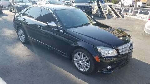 2008 Mercedes-Benz C-Class for sale at In-House Auto Finance in Hawthorne CA