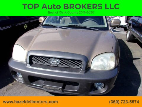 2001 Hyundai Santa Fe for sale at TOP Auto BROKERS LLC in Vancouver WA