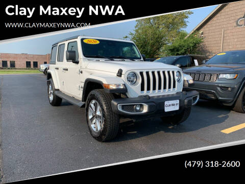 2020 Jeep Wrangler Unlimited for sale at Clay Maxey NWA in Springdale AR