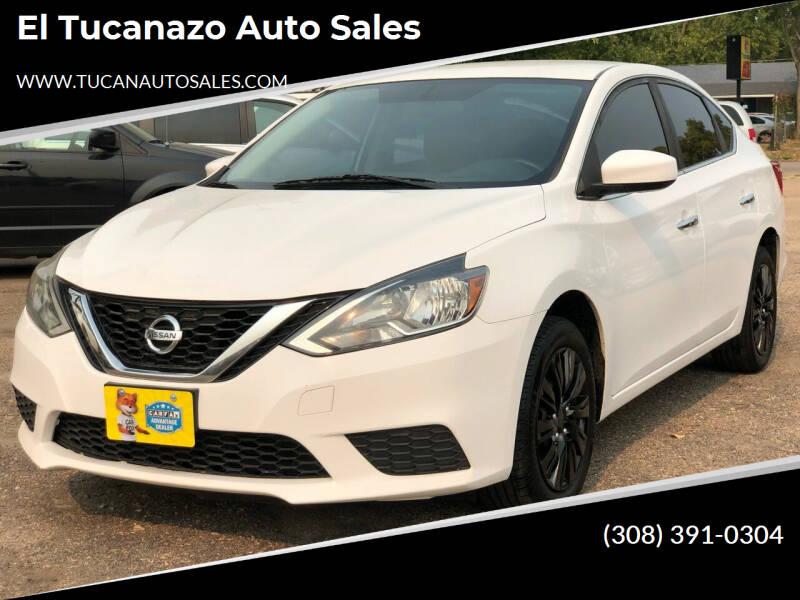 2016 Nissan Sentra for sale at El Tucanazo Auto Sales in Grand Island NE
