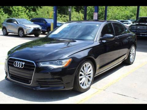2012 Audi A6 for sale at Inline Auto Sales in Fuquay Varina NC