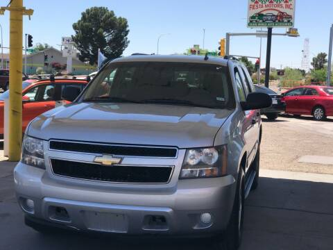 2010 Chevrolet Tahoe for sale at Fiesta Motors Inc in Las Cruces NM