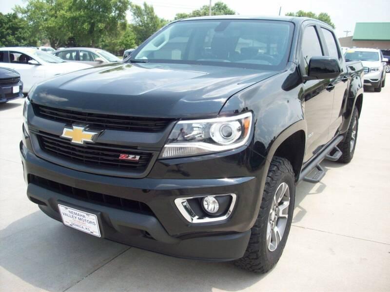 2017 Chevrolet Colorado for sale at Nemaha Valley Motors in Seneca KS