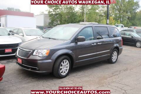 2015 Chrysler Town and Country for sale at Your Choice Autos - Waukegan in Waukegan IL