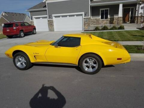 1976 Chevrolet Corvette for sale at Classic Car Deals in Cadillac MI