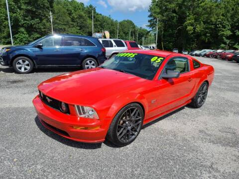 2005 Ford Mustang for sale at Let's Go Auto in Florence SC
