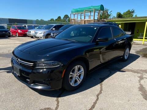 2015 Dodge Charger for sale at RODRIGUEZ MOTORS CO. in Houston TX