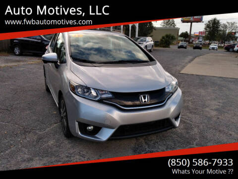 2015 Honda Fit for sale at Auto Motives, LLC in Fort Walton Beach FL