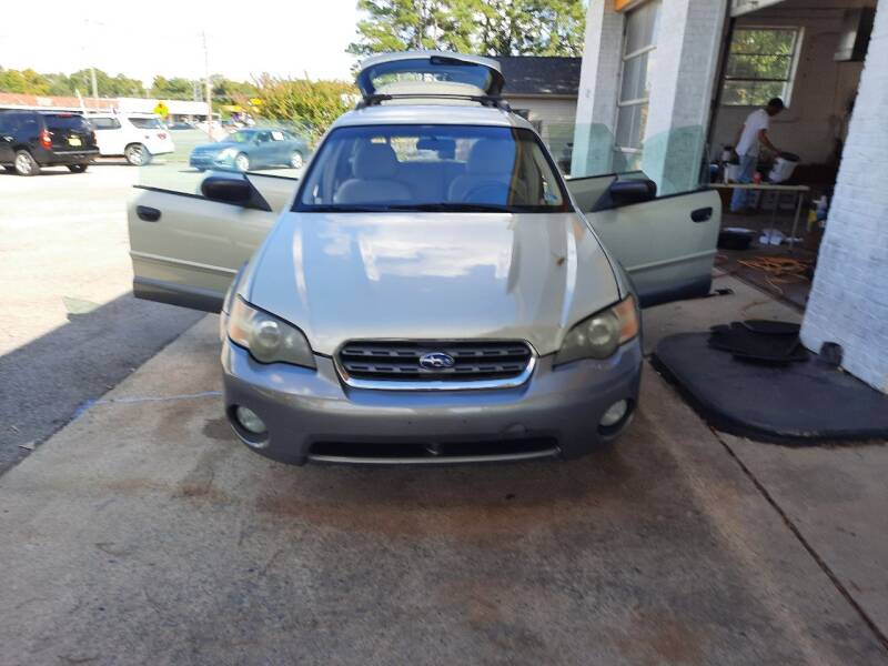 2005 Subaru Outback for sale at PIRATE AUTO SALES in Greenville NC