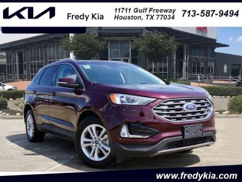 2020 Ford Edge for sale at FREDY KIA USED CARS in Houston TX
