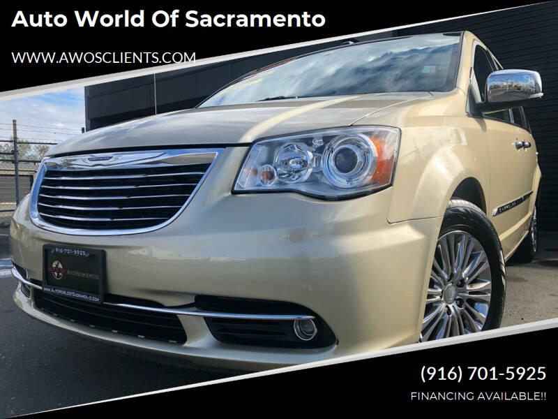 2011 Chrysler Town and Country for sale at Auto World of Sacramento Stockton Blvd in Sacramento CA
