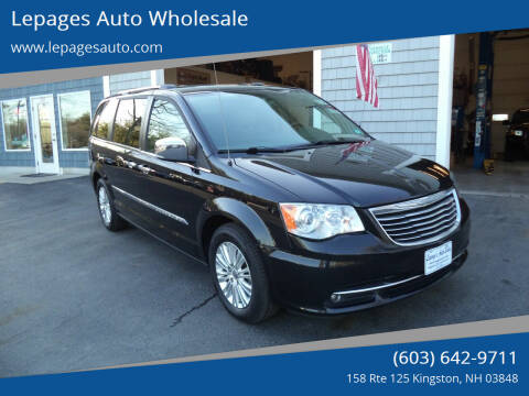 2014 Chrysler Town and Country for sale at Lepages Auto Wholesale in Kingston NH