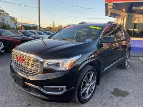 2017 GMC Acadia for sale at Cow Boys Auto Sales LLC in Garland TX