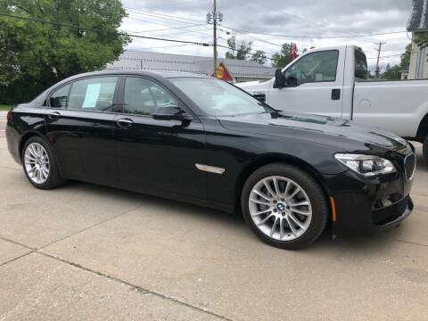 2013 BMW 7 Series for sale at Dussault Auto Sales in Saint Albans VT