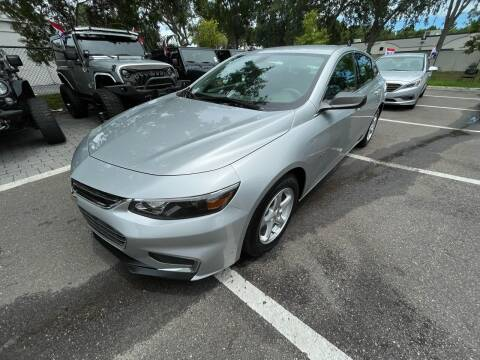 2018 Chevrolet Malibu for sale at Bay City Autosales in Tampa FL