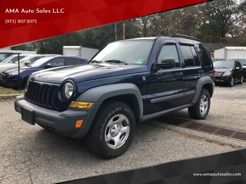 2005 Jeep Liberty for sale at AMA Auto Sales LLC in Ringwood NJ