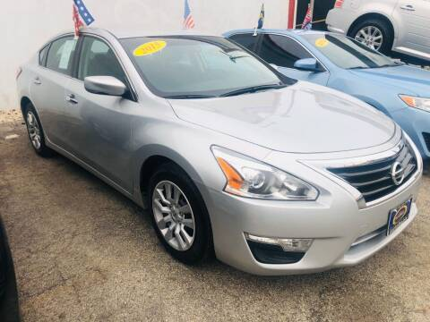 2015 Nissan Altima for sale at AutoBank in Chicago IL