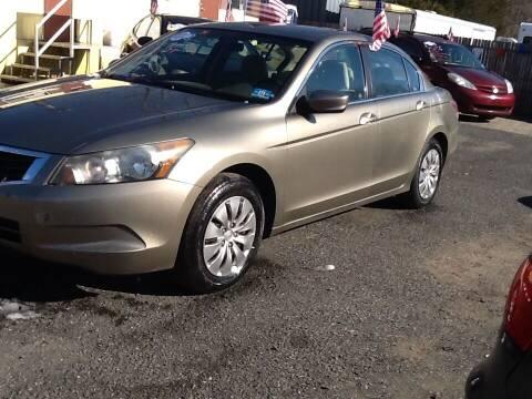 2010 Honda Accord for sale at Lance Motors in Monroe Township NJ