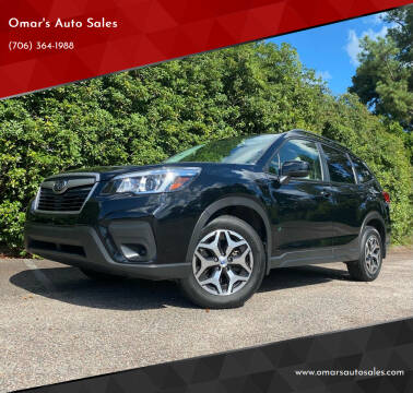 2019 Subaru Forester for sale at Omar's Auto Sales in Martinez GA