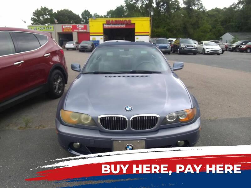 2004 BMW 3 Series for sale at Marino's Auto Sales in Laurel DE