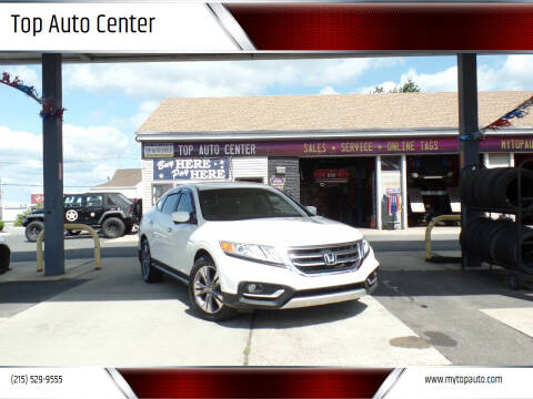 2013 Honda Crosstour for sale at Top Auto Center in Quakertown PA
