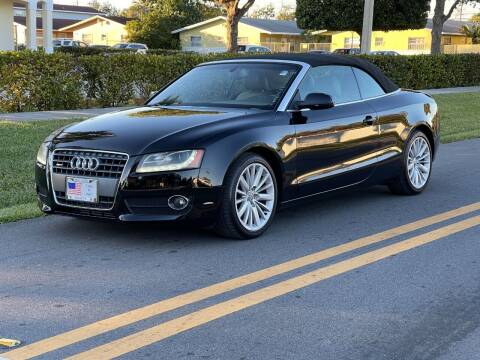 2012 Audi A5 for sale at GTR Motors in Davie FL