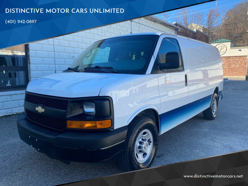 2014 Chevrolet Express Cargo for sale at DISTINCTIVE MOTOR CARS UNLIMITED in Johnston RI