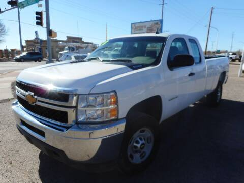 2013 Chevrolet Silverado 2500HD for sale at AUGE'S SALES AND SERVICE in Belen NM
