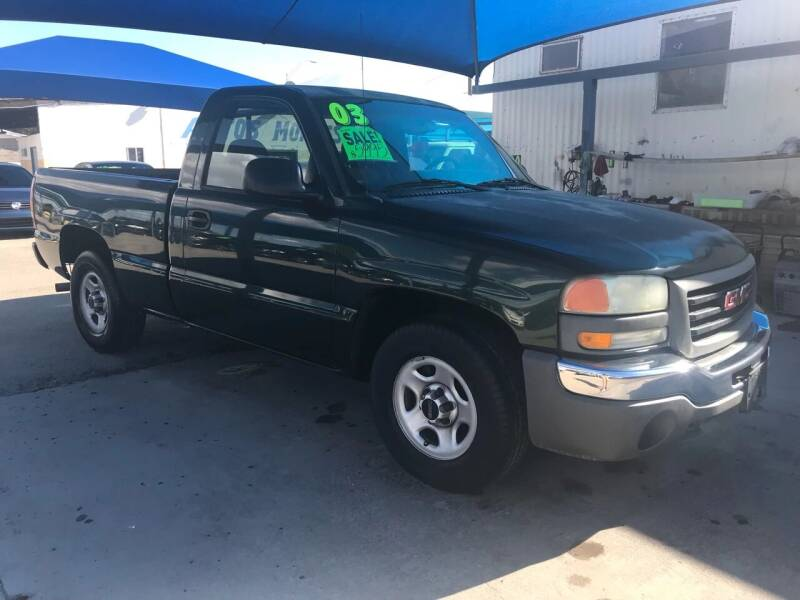 2003 GMC Sierra 1500 for sale at Autos Montes in Socorro TX