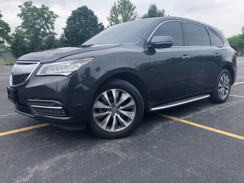 2014 Acura MDX for sale at Car Stars in Elmhurst IL