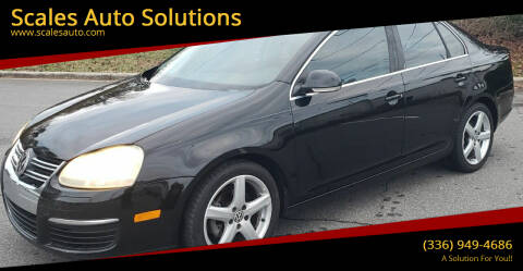 2008 Volkswagen Jetta for sale at Scales Auto Solutions in Madison NC