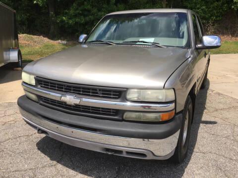 2002 Chevrolet Silverado 1500 for sale at Tim Harrold Auto Sales in Wilkesboro NC