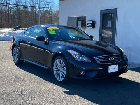 2012 Infiniti G37 Coupe for sale at Vantage Auto Group in Tinton Falls NJ