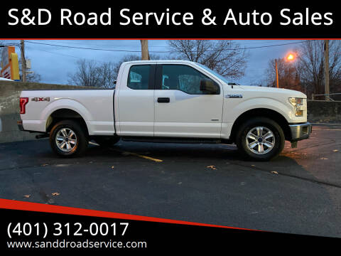 2015 Ford F-150 for sale at S&D Road Service & Auto Sales in Cumberland RI
