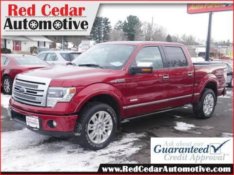 2014 Ford F-150 for sale at Red Cedar Automotive in Menomonie WI