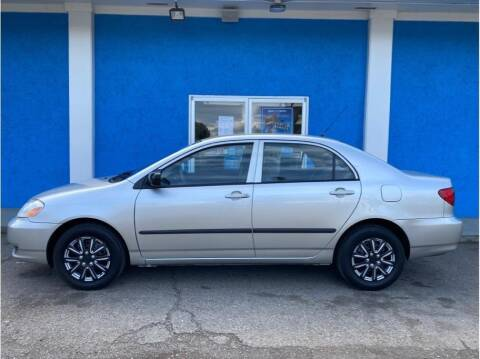 2003 Toyota Corolla for sale at Khodas Cars in Gilroy CA