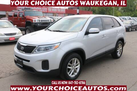 2014 Kia Sorento for sale at Your Choice Autos - Waukegan in Waukegan IL