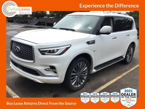 2019 Infiniti QX80 for sale at Dallas Auto Finance in Dallas TX