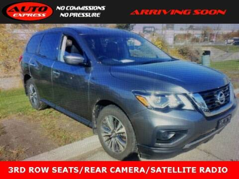 2018 Nissan Pathfinder for sale at Auto Express in Lafayette IN