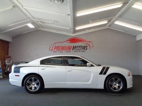 2013 Dodge Charger for sale at Premium Motors in Villa Park IL