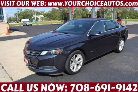 2014 Chevrolet Impala for sale at Your Choice Autos - Crestwood in Crestwood IL