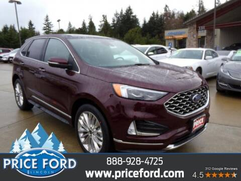 2020 Ford Edge for sale at Price Ford Lincoln in Port Angeles WA