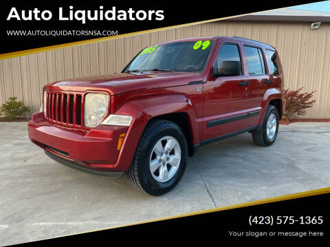 2009 Jeep Liberty for sale at Auto Liquidators in Bluff City TN