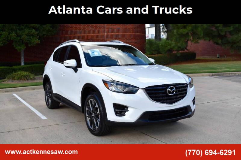 2016 Mazda CX-5 for sale at Atlanta Cars and Trucks in Kennesaw GA